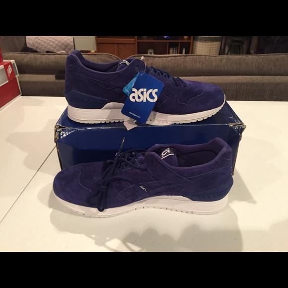 hot sales 8152d 6329c Men's Asics Gel Respector Blue Size 12 NWT